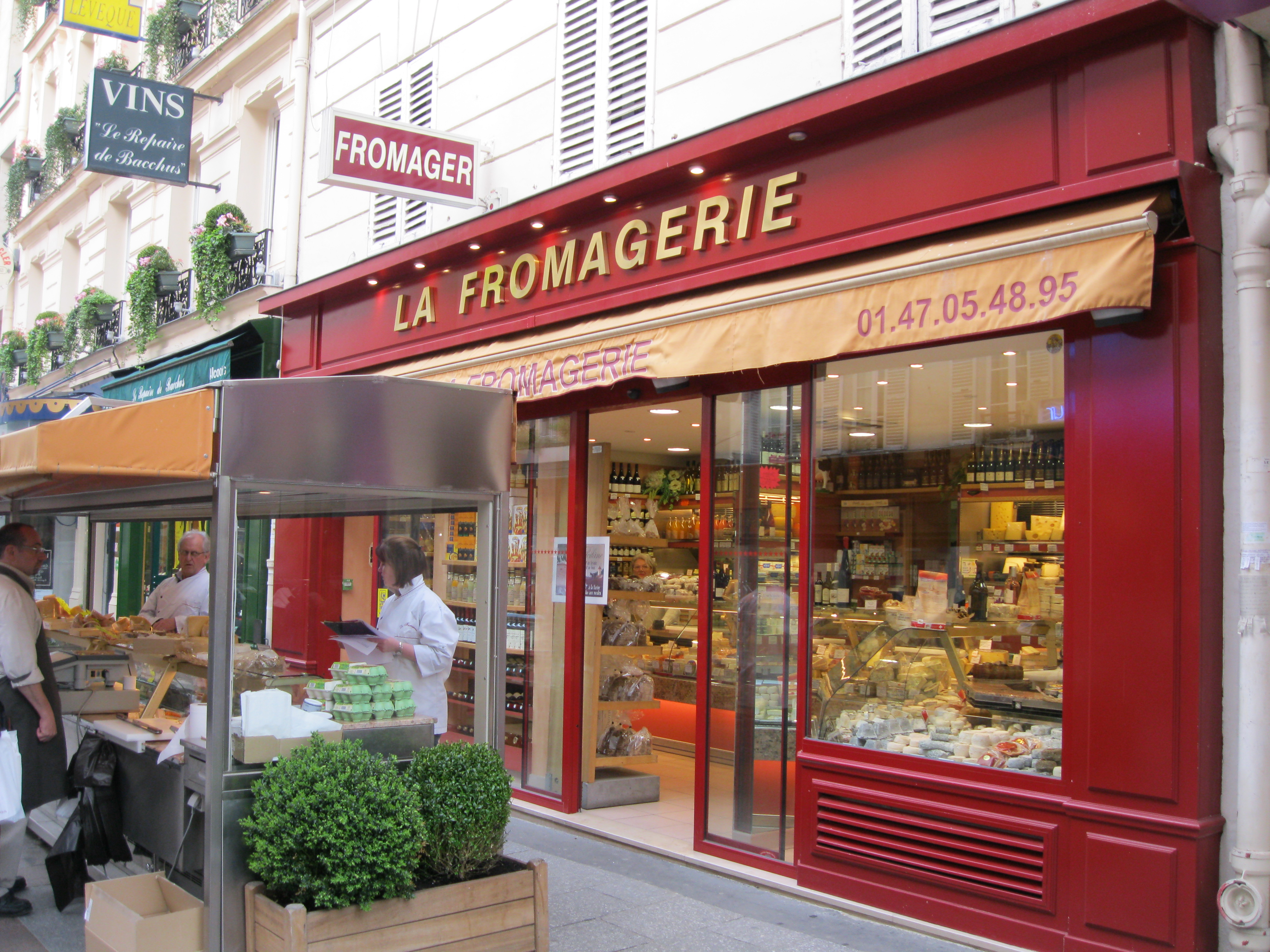 Shopping Rue Cler The Very French Way To Eat In Paris