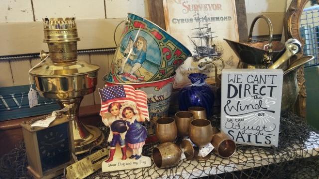 Vintage Nautical display